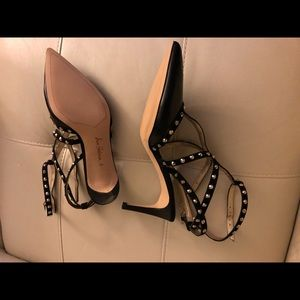 NWOT Sam Edelman black heels  size 9.5